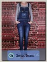 Комбинезон женский джинсовый Miss Bon MB-423
