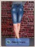 Бриджи женские джинсовые Langluka LK1618W-1
