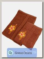 Комплект полотенец (70x140)+(50x90) КМП-5/2-3