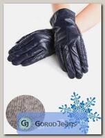 Перчатки женские кожаные KangTai 2270