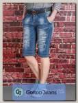 Бриджи женские джинсовые Langluka X1625AWK